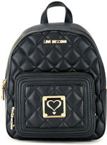 Love Moschino quilted backpack - women - Polyurethane - One Size