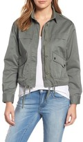 Velvet by Graham & Spencer Women's Crop Army Jacket