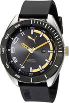 Puma Men's PU103951002 Octane II Analog Display Quartz Black Watch