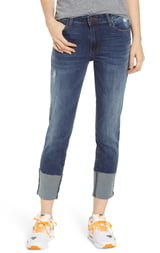 STS Blue Lucia Cuffed Straight Leg Jeans