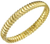 Chimento 18K Yellow Gold Armillas Collection Ridge Curve Bracelet