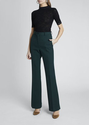 Victoria Beckham Cotton Jersey 1/2-Sleeve Sweater