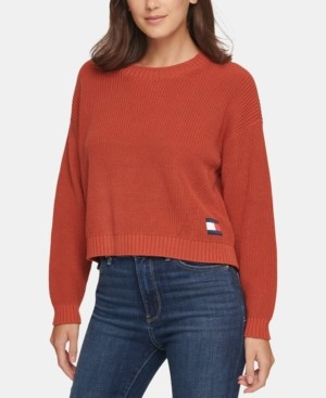 Tommy Jeans Cotton Sweater