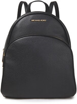 Thumbnail for your product : MICHAEL Michael Kors Abbey Pebbled-leather Backpack