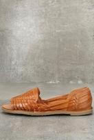 Sbicca Peep Toe Woven Huarache