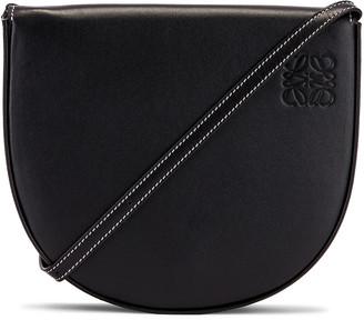 Loewe Heel Bag in Black   FWRD