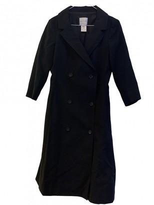 Celine Black Cotton Coats