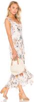Rebecca Taylor Meadow Ruffle Maxi Dress