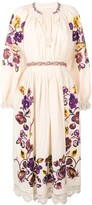 Ulla Johnson Embroidered Floral Dress