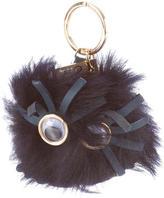 Sophie Hulme Mink Fur Keychain