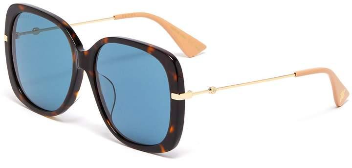 de7d3dbea02b Gucci Sunglasses Butterfly - ShopStyle