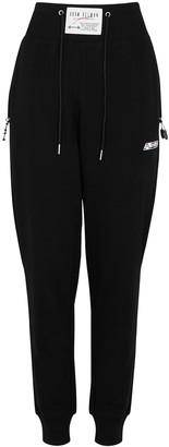 Adam Selman Sport Black Jersey Sweatpants
