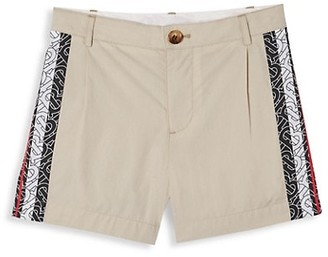 Burberry Little Boy's & Boy's Ali Monogram Trim Shorts