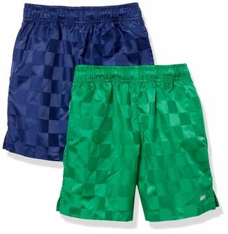 Amazon Essentials 2-Pack Boys Woven Soccer Short