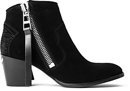 Zadig & Voltaire Women's Molly Stacked Heel Ankle Booties