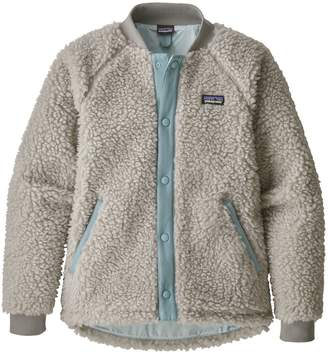 Patagonia Girls' Retro-X Fleece Bomber Jacket