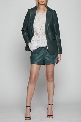 Analise Leather Blazer