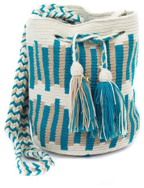 Velvet by Graham & Spencer Velvet By Graham Spencer Wayuu Crochet Crossbody Bag By Guanabana