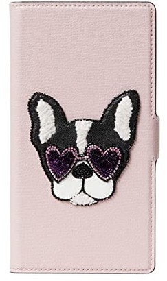 Kate Spade Sylvia Francois Mag Folio for iPhone(r) 11 Pro Max (Tutu Pink) Cell Phone Case