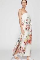 Witchery Strapless Rose Maxi Dress