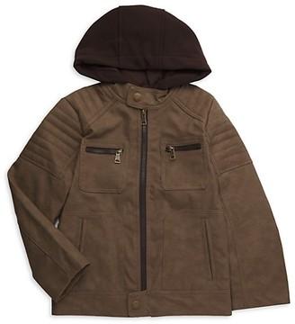 Urban Republic Boy's Faux Suede Jacket