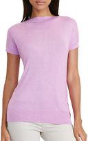 Lauren Ralph Lauren Petite Jenady Silk-Blend Cap-Sleeve Sweater