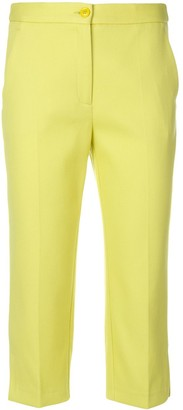 Boutique Moschino Cropped Tailored Trousers