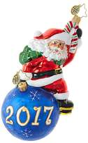Christopher Radko Having A Ball 2017 Santa Claus Ornament