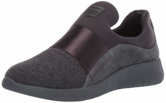 Rockport Women's CL Robyne Slipon Loafer Grey Wool 9.5 M US