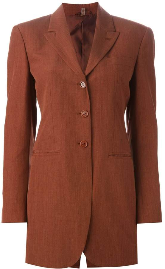 Romeo Gigli Pre-Owned oversize suit jacket