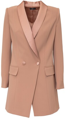 Elisabetta Franchi Double Breasted Blazer Dress