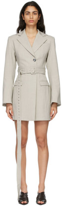 ANNA QUAN Grey Yulia Dress