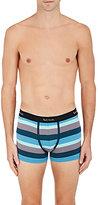 Paul Smith Men's Striped Stretch-Cotton Boxer Briefs