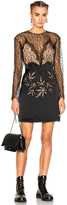 Alexander Wang Lace Leaf Dress