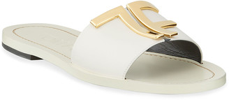Tom Ford TF Suede Flat Sandals