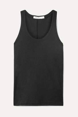 Rag & Bone Slub Pima Cotton-jersey Tank - Black