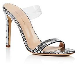 Giuseppe Zanotti Women's Double Strap High-Heel Slide Sandals