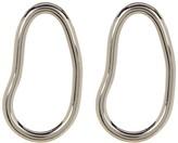 Botkier Open Oval Drop Stud Earrings