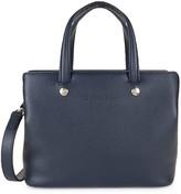 Longchamp Grained Leather Convertible Shoulder Bag