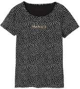 MANGO Logo print t-shirt