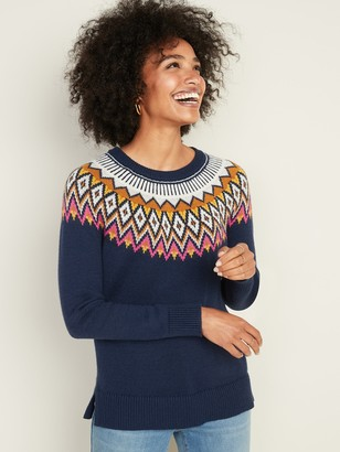 Old Navy Fair Isle Sweater for Women