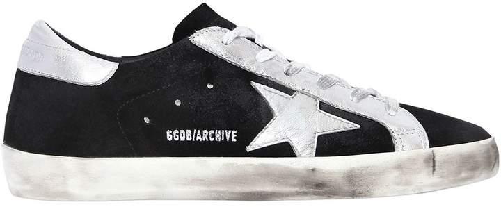 Golden Goose 20mm Super Star Archive Suede Sneakers
