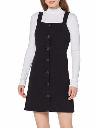 New Look Women's Crepe Fitted Pinny Dress