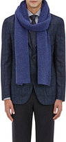 Barneys New York Men's Popcorn-Knit Wool-Cashmere Scarf