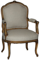One Kings Lane Vintage Louis XV-Style Chair - cream