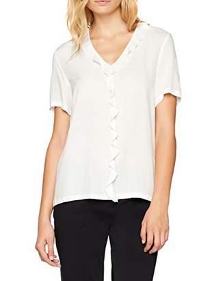 Marc O'Polo Women's 807101741137 Blouse, Off- Paper White 105, 6