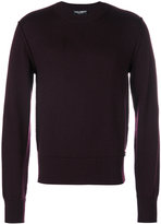 Dolce & Gabbana classic crew neck jumper - men - Virgin Wool - 50