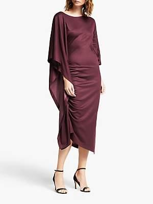 Modern Rarity Paula Knorr Ruffle Dress, Red