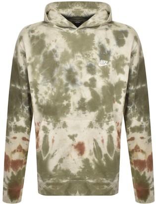 Nike Dye Pullover Hoodie Khaki