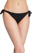 Lise Charmel Side-Tie Eyelet Bikini Swim Bottoms with Narrow Sides